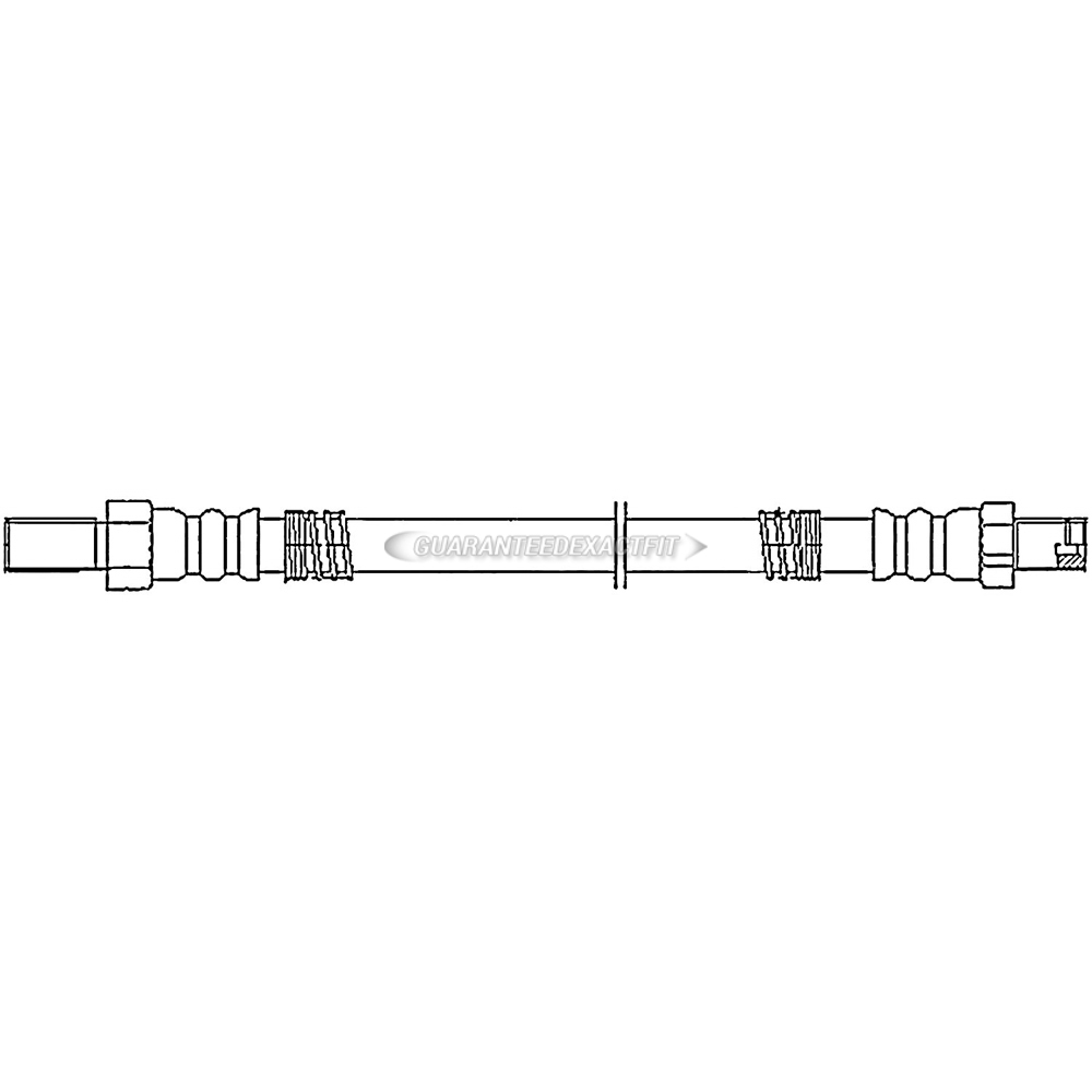 Land Rover Discovery Brake Hydraulic Hose