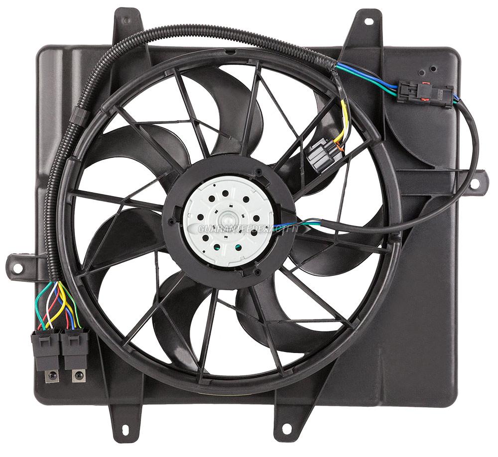 2006 chrysler pt cruiser cooling fan assembly radiator. Black Bedroom Furniture Sets. Home Design Ideas