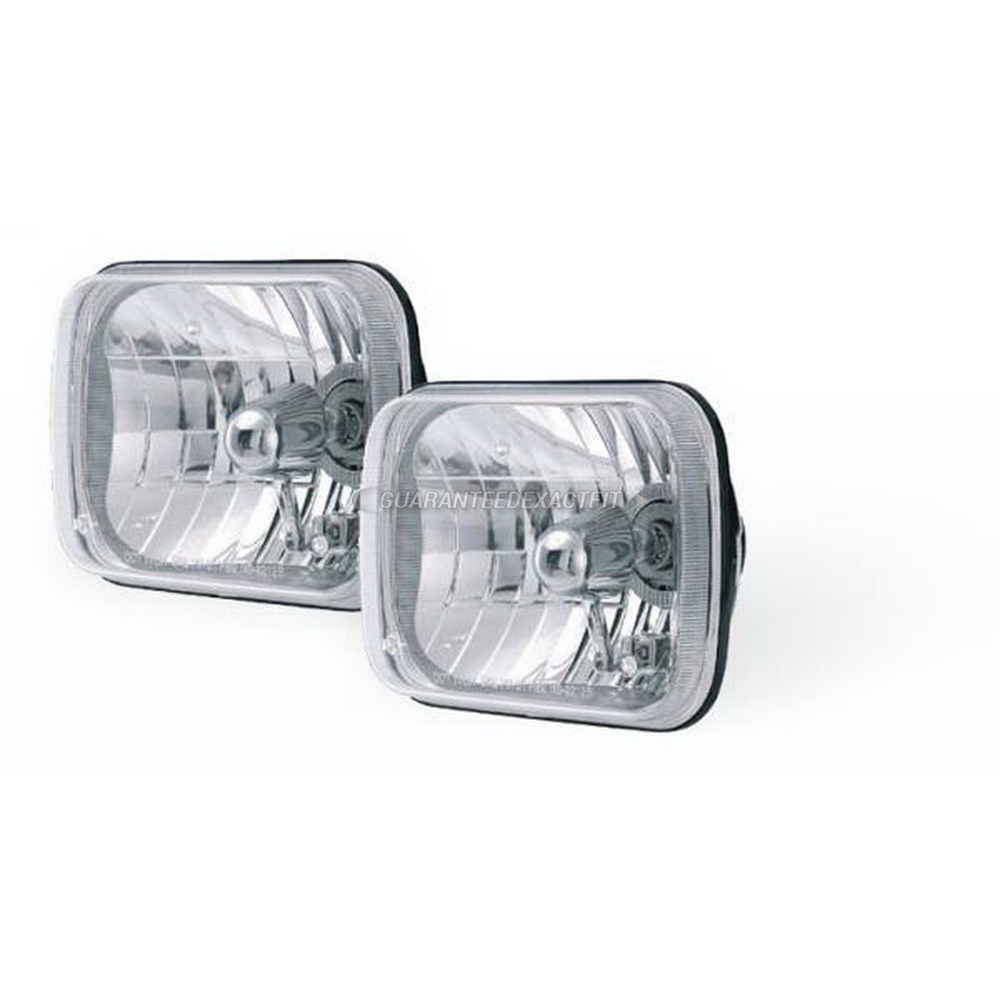 Jeep Grand Wagoneer Headlight Assembly Pair