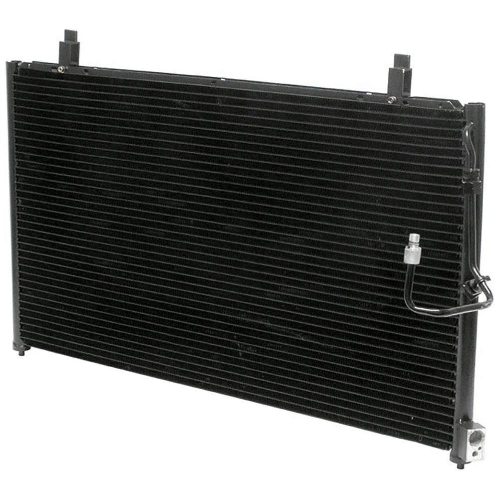 2000 Infiniti Q Camshaft: 2000 Infiniti Q45 A/C Condenser 4.1L Engine 60-60122 N