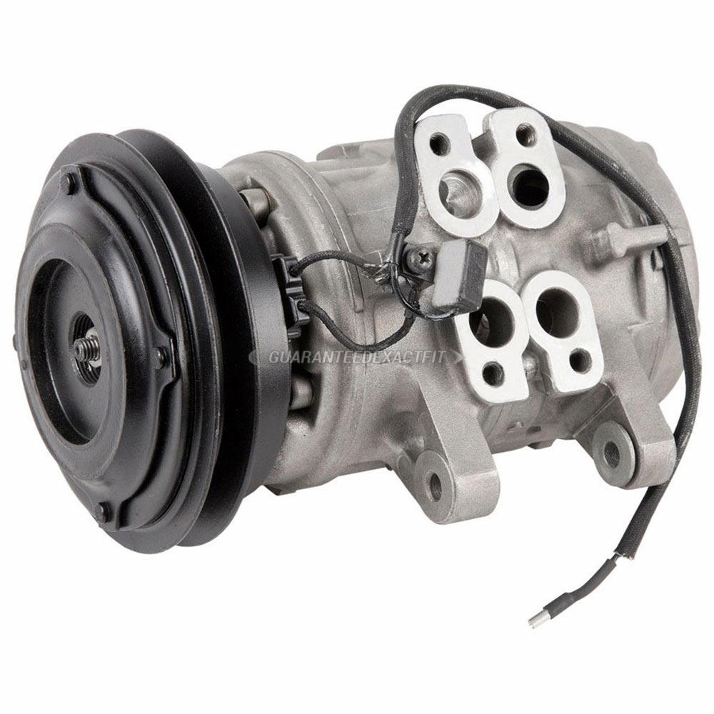 BMW 528 Remanufactured Compressor w Clutch