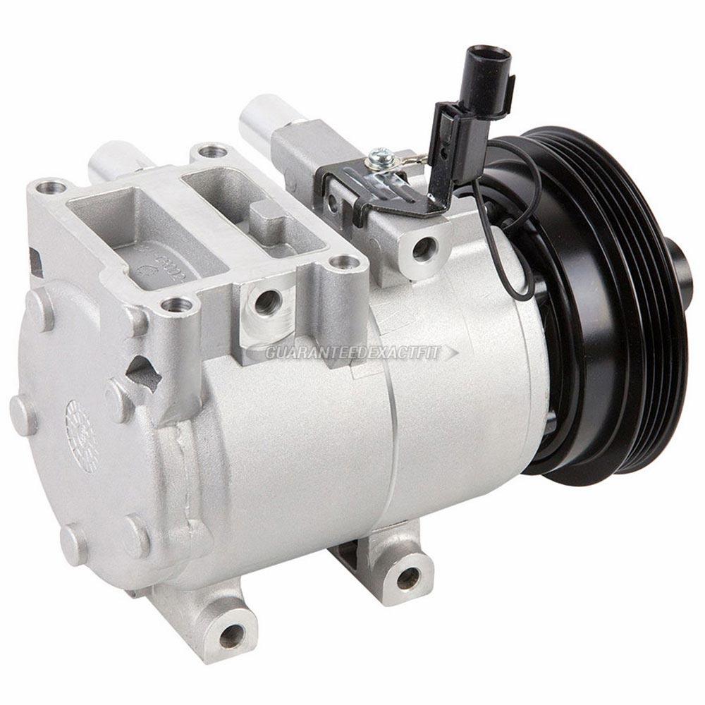 2007 Hyundai Tucson A/C Compressor 2.0L Engine With Hala
