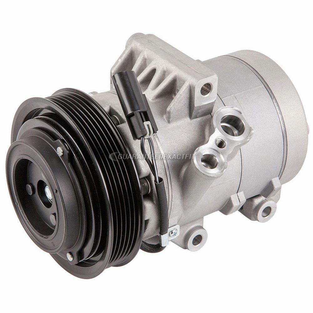 2007 Mercury Milan A  C Compressor 2 3l With Manual