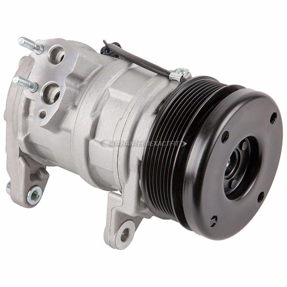 2007 Chrysler Aspen A/C Compressor 5.7L V8 Engine 60-01959 NA