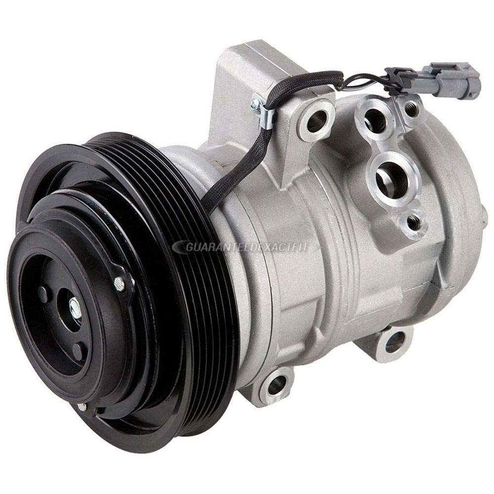 Isuzu I-Series Truck Remanufactured Compressor w Clutch