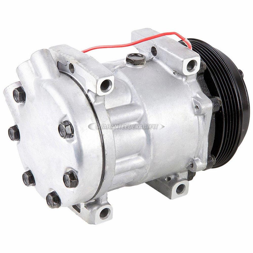 2000 Mazda 626 A  C Compressor 2 5l V6 Engine 60