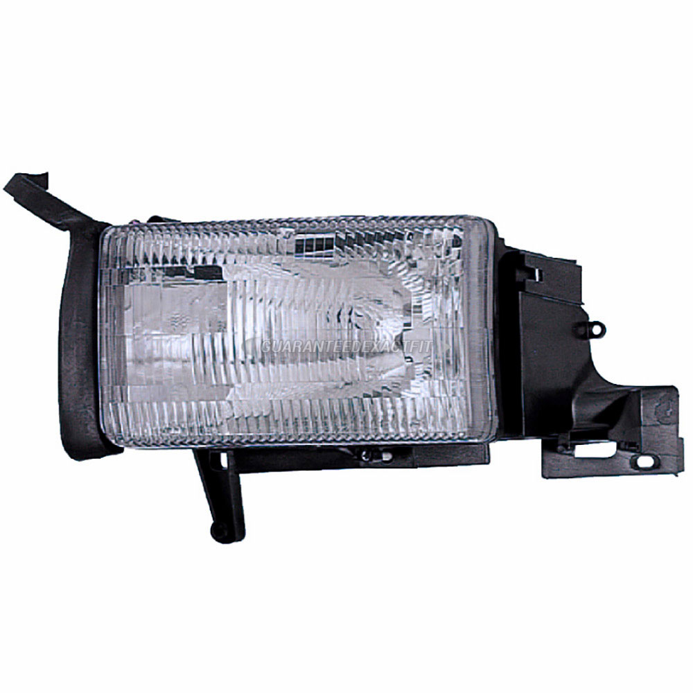 BuyAutoParts 16-01886AN Headlight Assembly