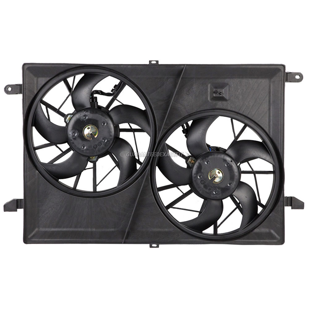 GMC Acadia Cooling Fan Assembly