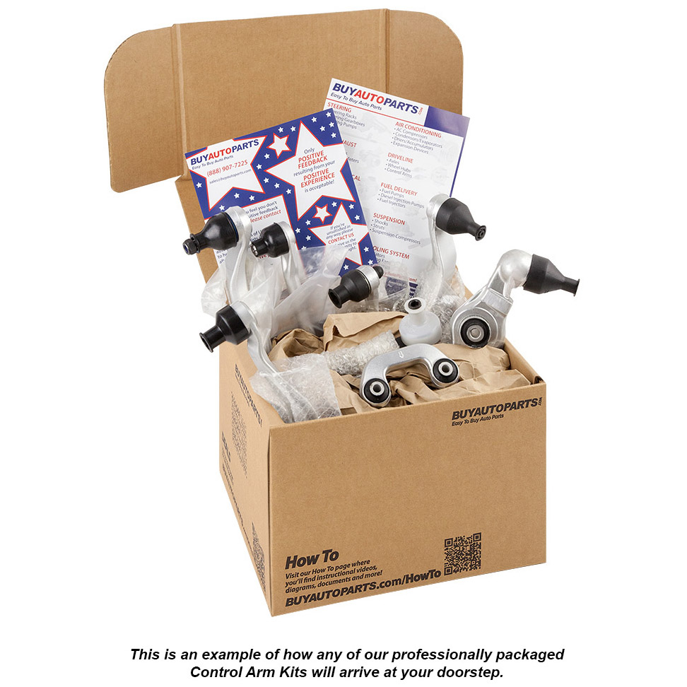 Professionally Packaged Control Arm Kits