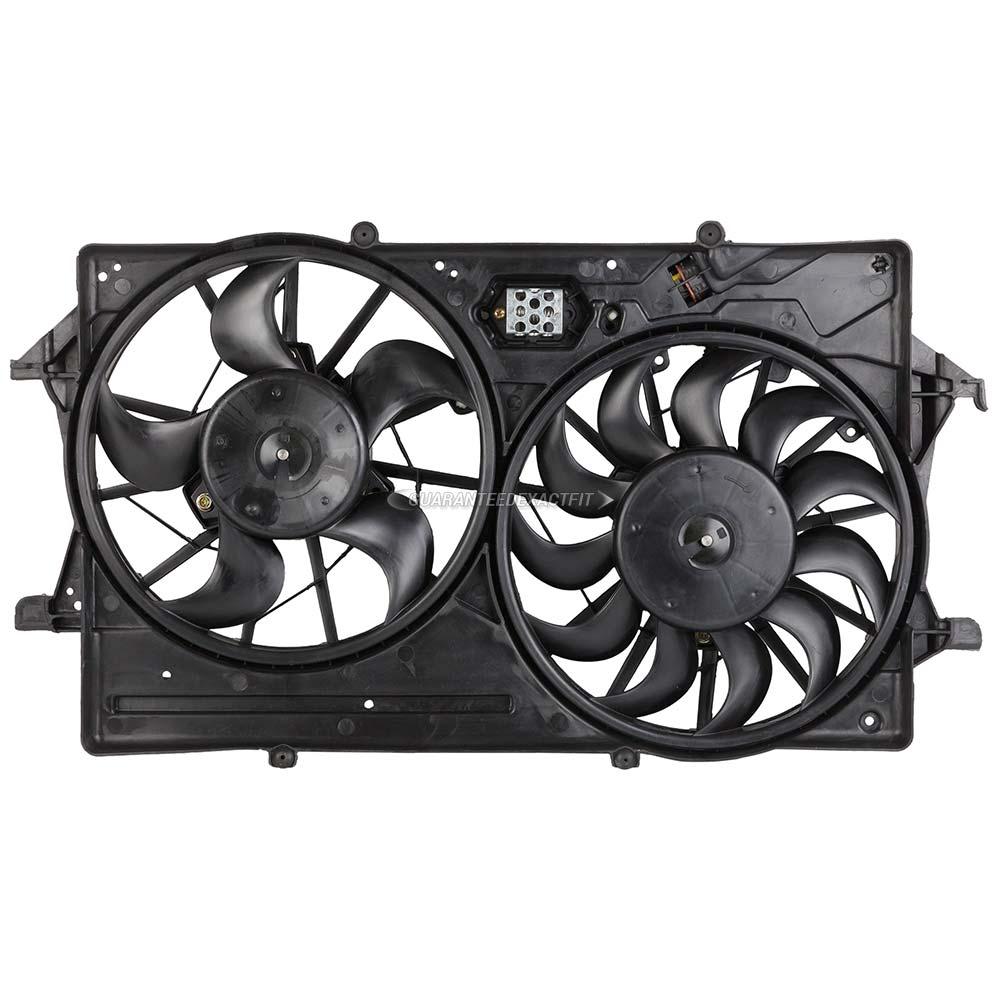 Cooling fan assembly cooling fan assembly