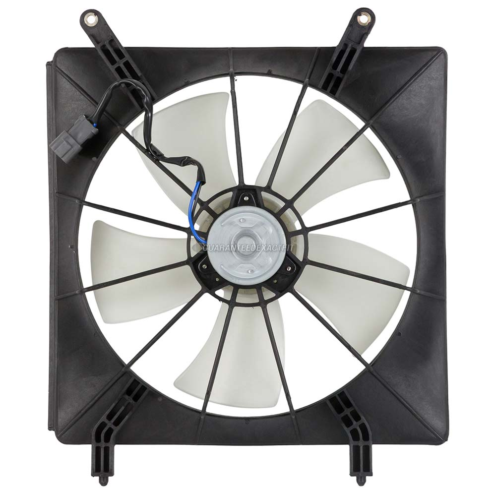 2003 honda element cooling fan assembly radiator side 2 4l models 19 20262 an. Black Bedroom Furniture Sets. Home Design Ideas