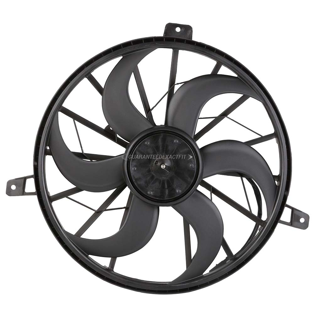 Jeep Liberty Cooling Fan Assembly