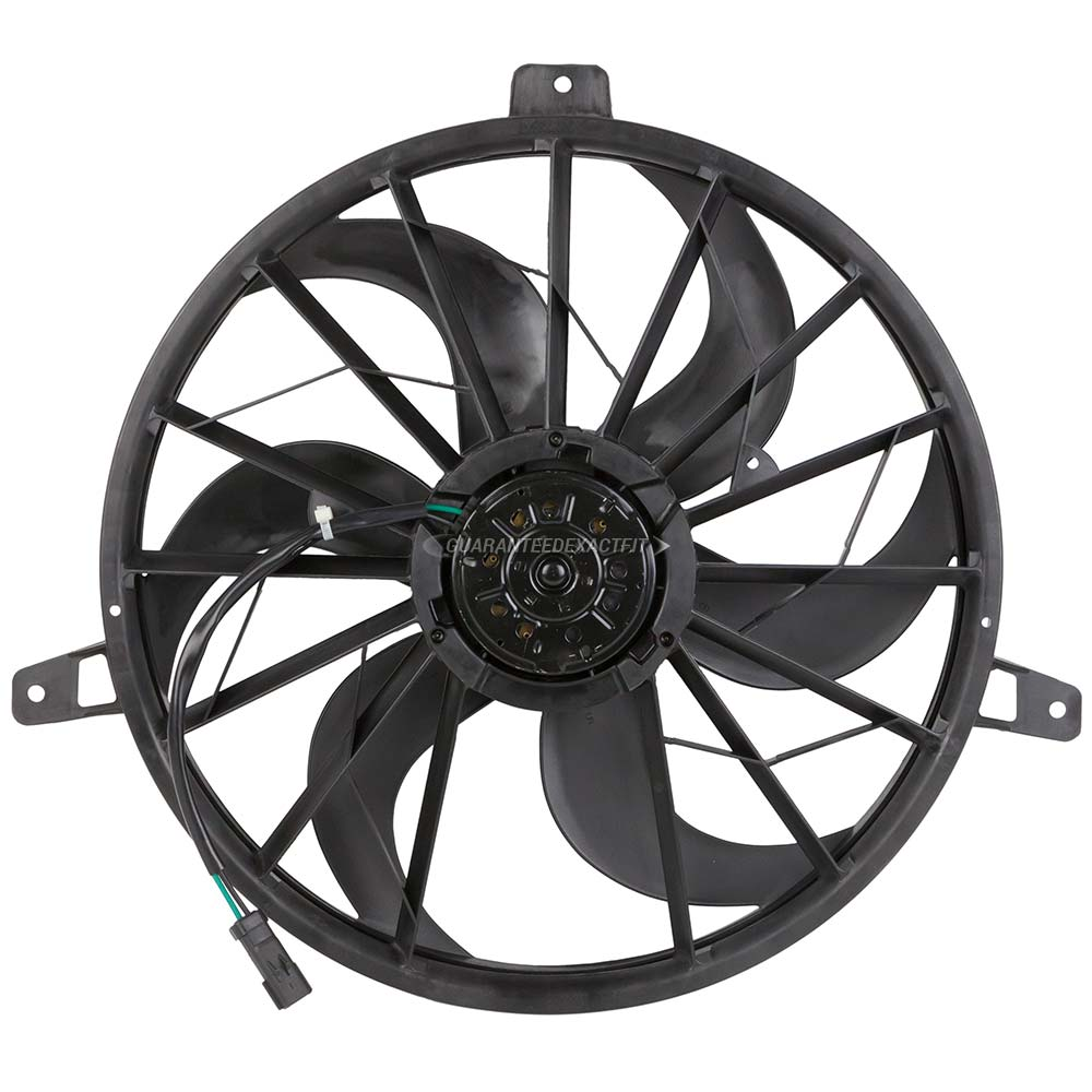 2001 Jeep Grand Cherokee Cooling Fan Wiring Diagram from www.buyautoparts.com