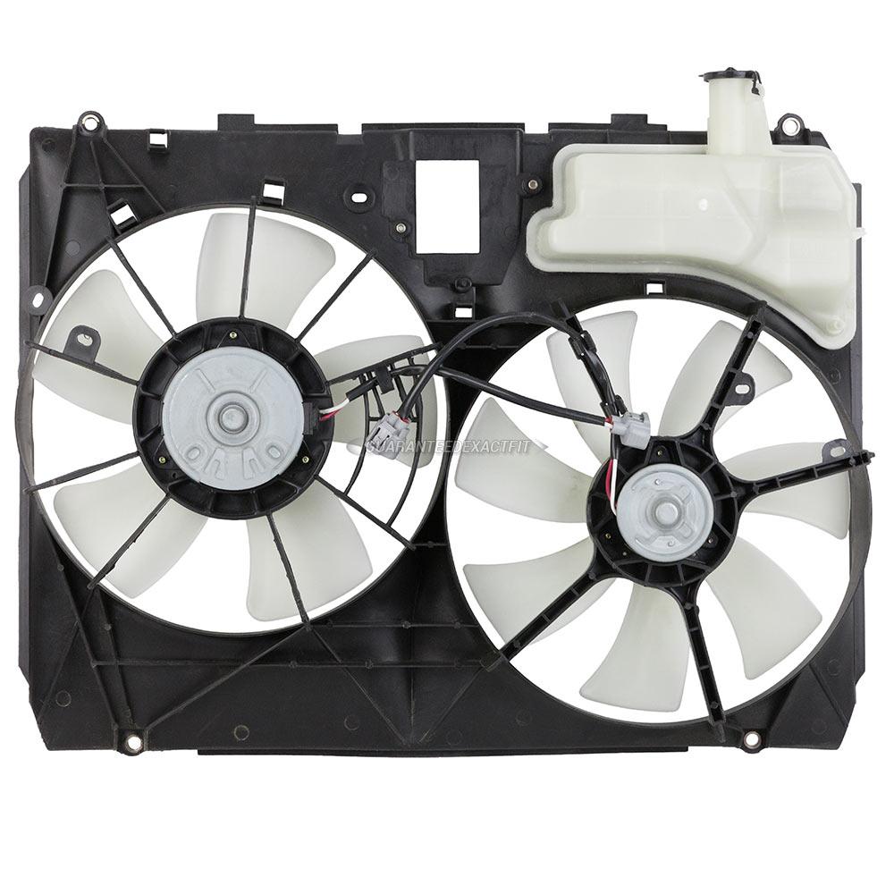 Lexus 2005 Rx330: 2005 Lexus RX330 Cooling Fan Assembly Dual Fan Assembly
