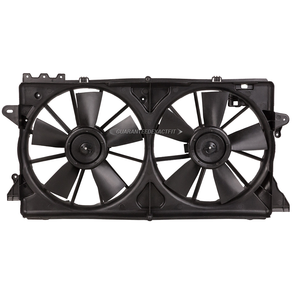 BuyAutoParts 19-20915AN Cooling Fan Assembly