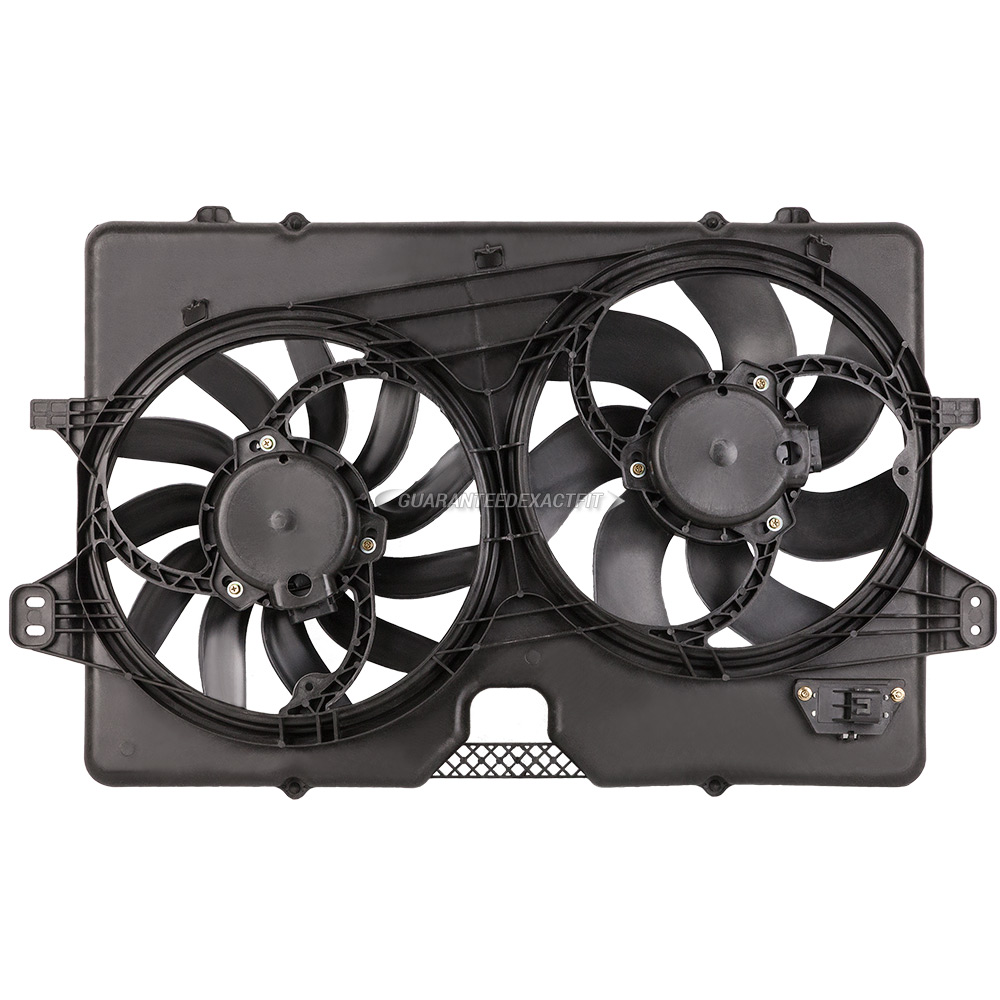 BuyAutoParts 19-20950AN Cooling Fan Assembly