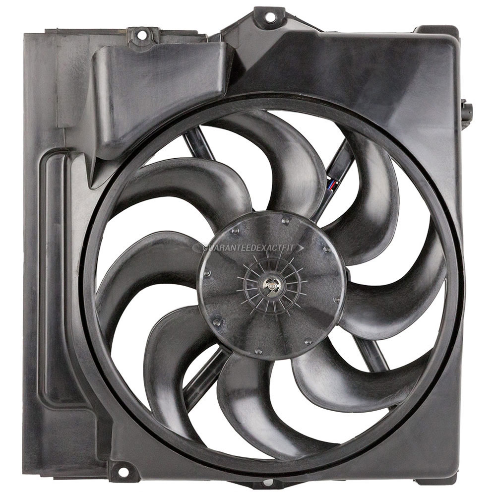 BMW 328is Cooling Fan Assembly