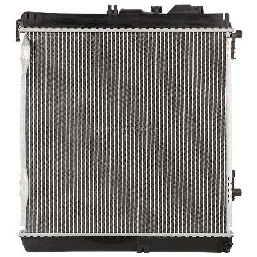 1991 mercedes benz 300se radiator all models 19 01542 an for Mercedes benz radiator