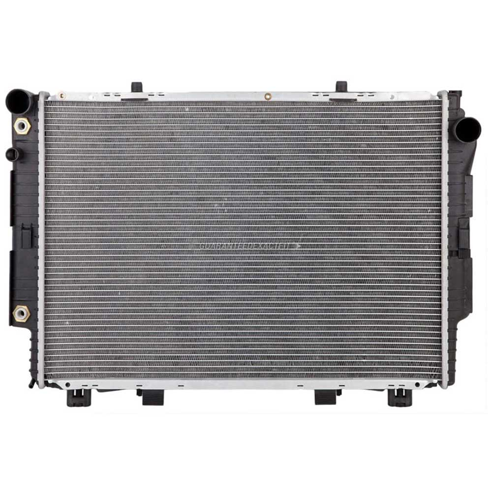 Mercedes Benz 400SEL Radiator