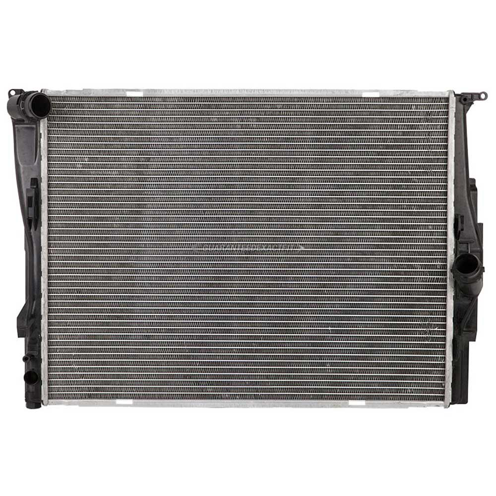 What Type Of Coolant For Bmw: 2008 BMW 328i Radiator N52 Engine ID