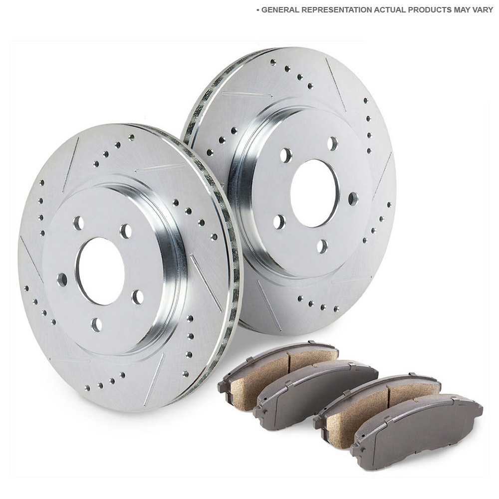 Acura MDX Performance Disc Brake Pad and Rotor Kit