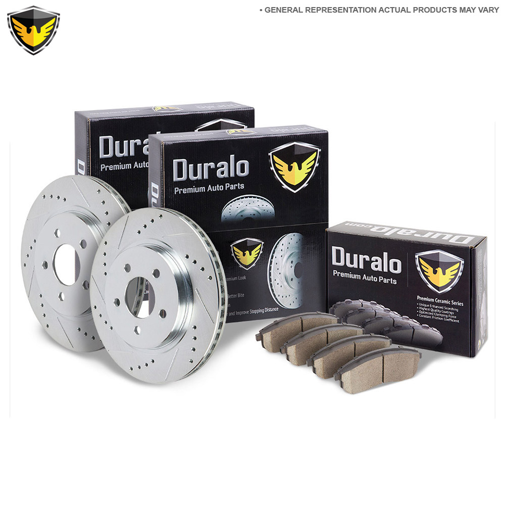 Oldsmobile Bravada Brake Pad and Rotor Kit