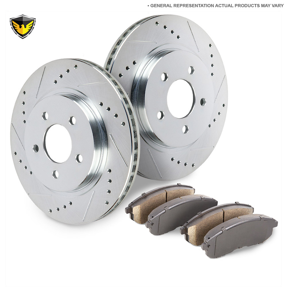 BMW 328i Brake Pad and Rotor Kit