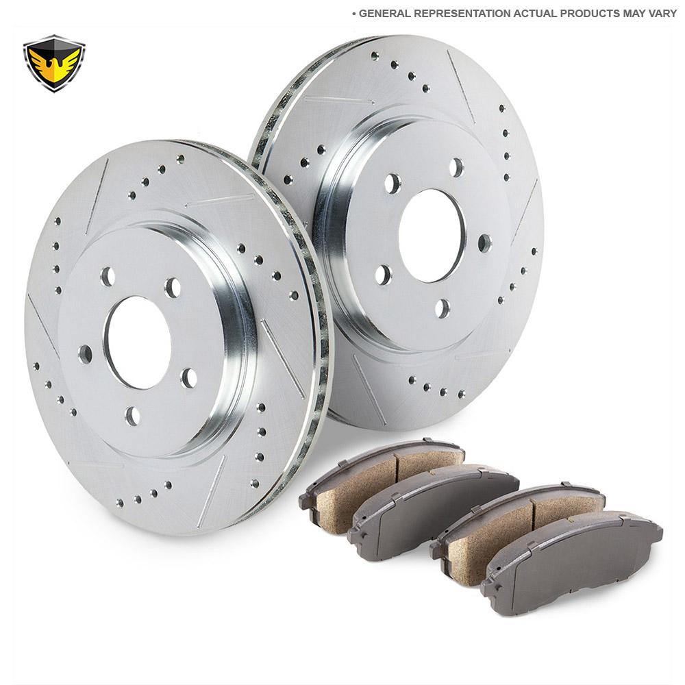 Brake pad and rotor kit