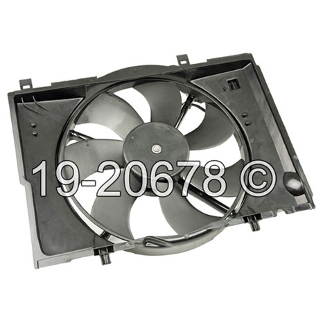Chrysler Crossfire Cooling Fan Assembly