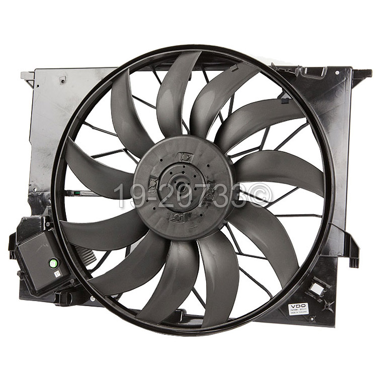 Mercedes_Benz E63 AMG Cooling Fan Assembly