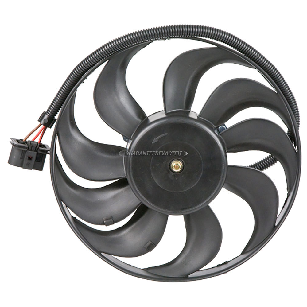 Audi TT Cooling Fan Assembly