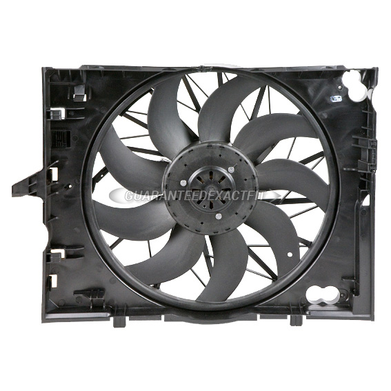 BMW 550 Cooling Fan Assembly