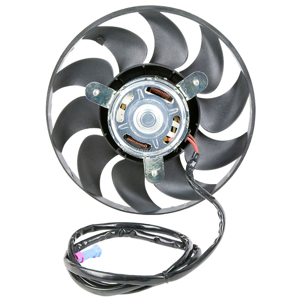 1992 Audi S4 Cooling Fan Assembly