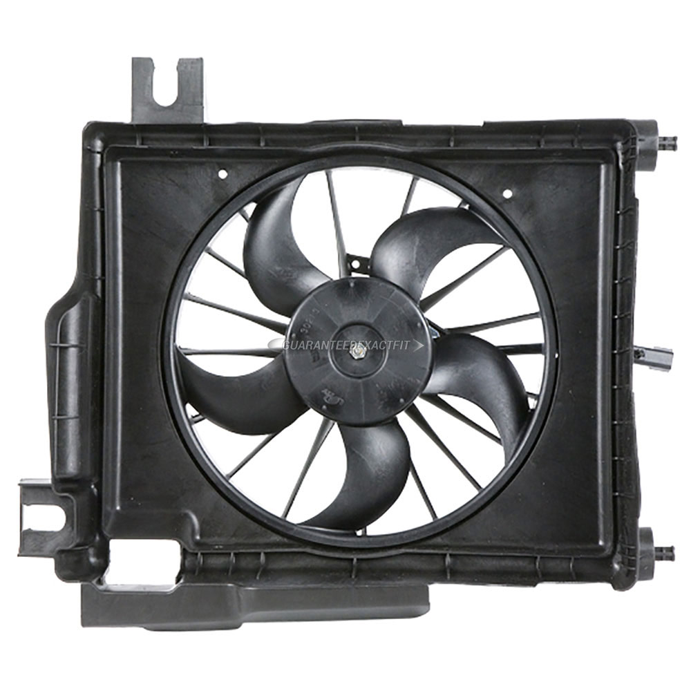 2002 Dodge Pick-up Truck Cooling Fan Assembly