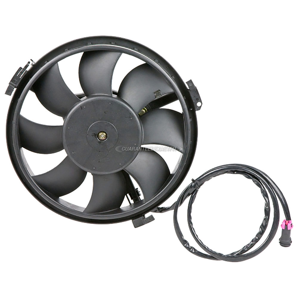 Audi A8 Cooling Fan Assembly