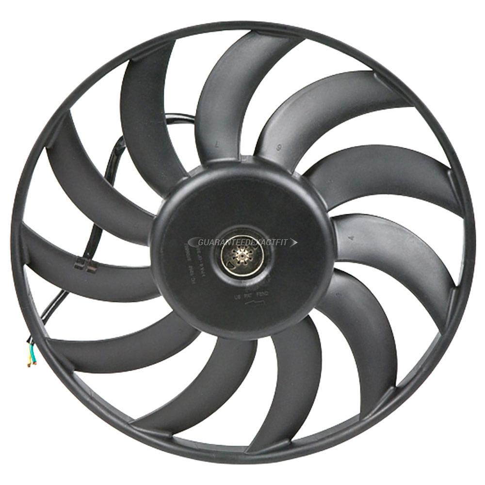 Audi A6 Cooling Fan Assembly