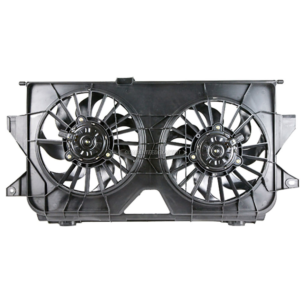 2006 Chrysler Town And Country Cooling Fan Assembly Dual
