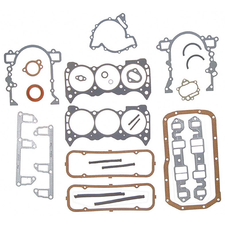 Jeep Postal Jeep - Right Hand- etc Engine Gasket Set - Full