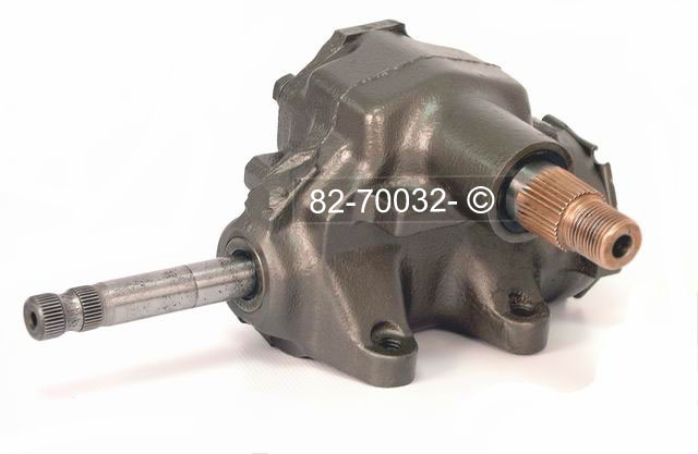 Chevrolet Monte Carlo Manual Steering Gear Box