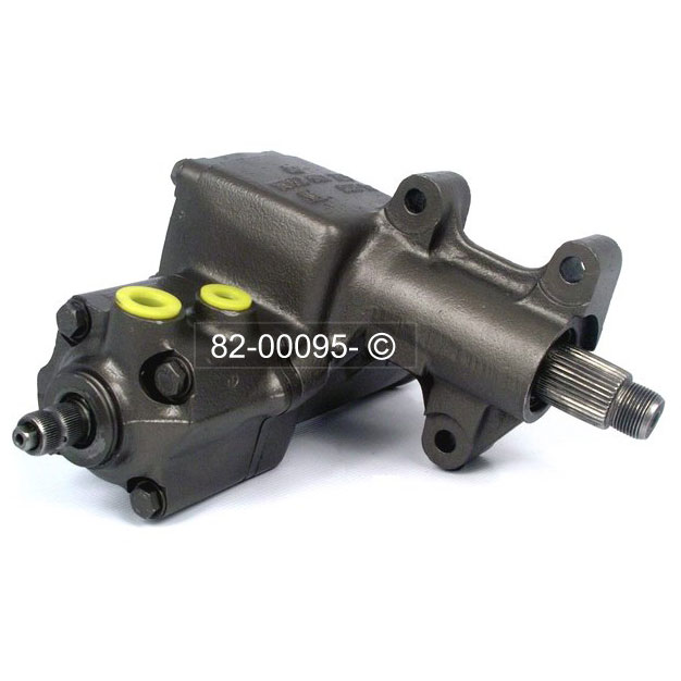 BMW 630 Power Steering Gear Box