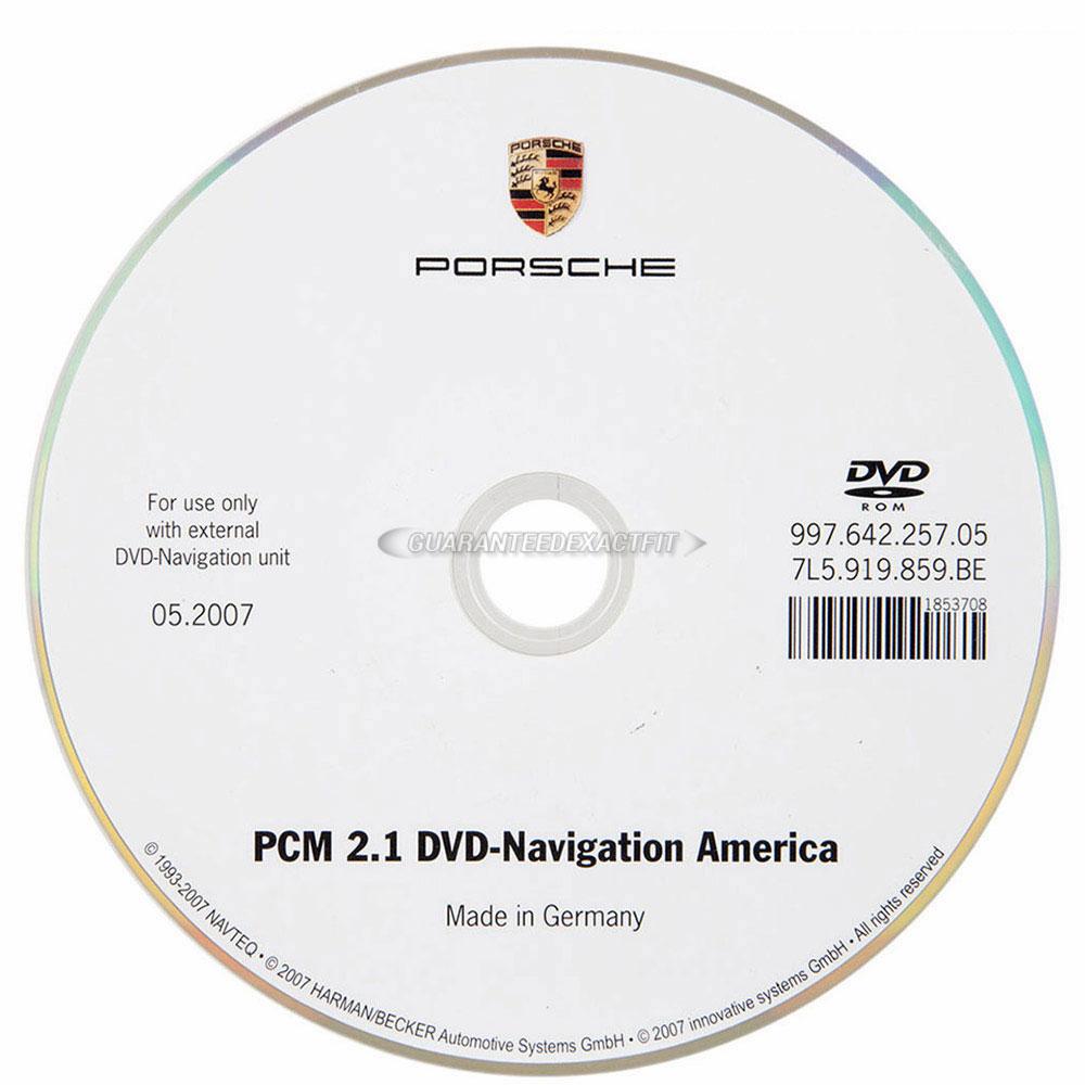 Porsche  Navigation DVD
