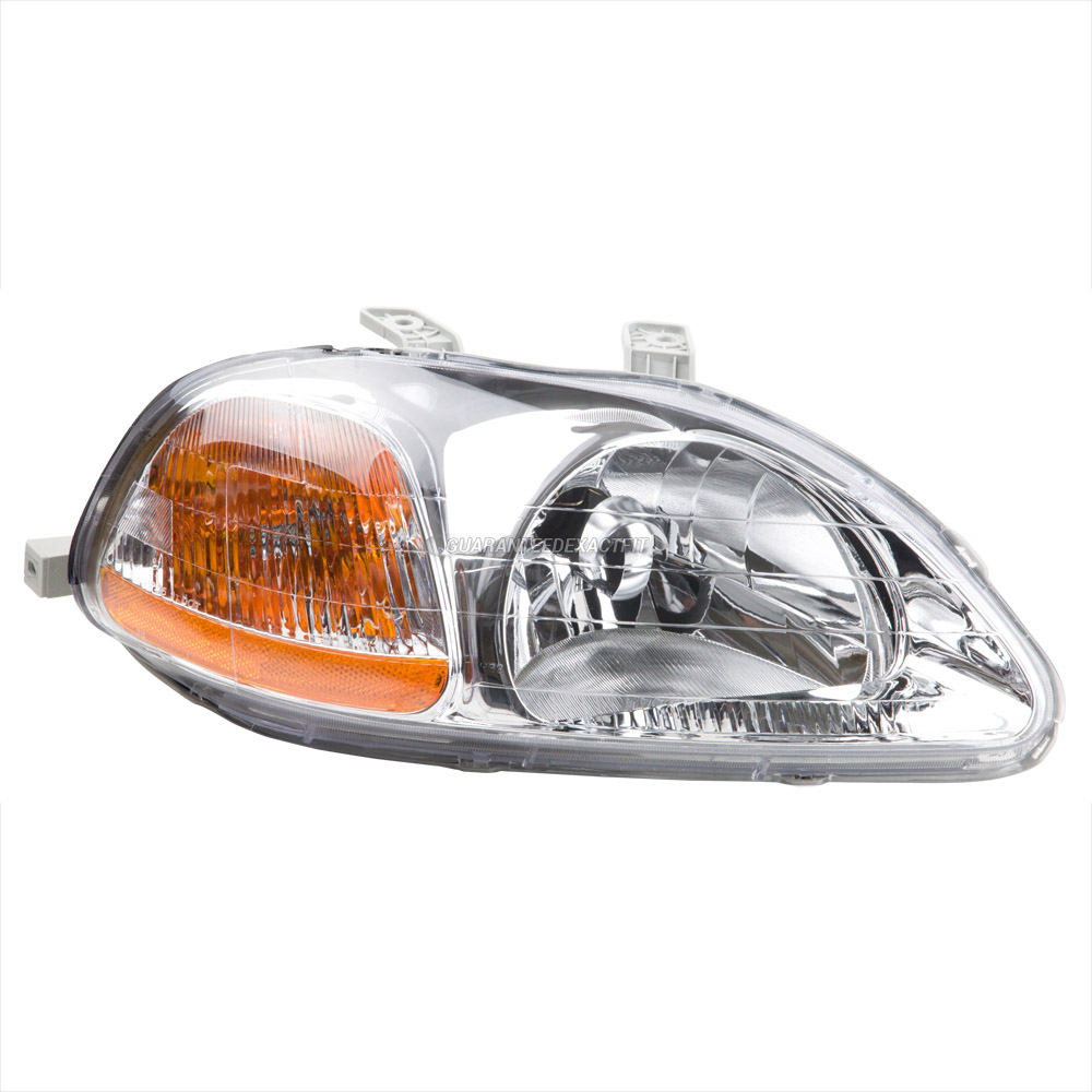 98 Honda Civic Headlight Assembly How Do I Replace Lens On Wiring 2013 Diagram Detailed Schematics