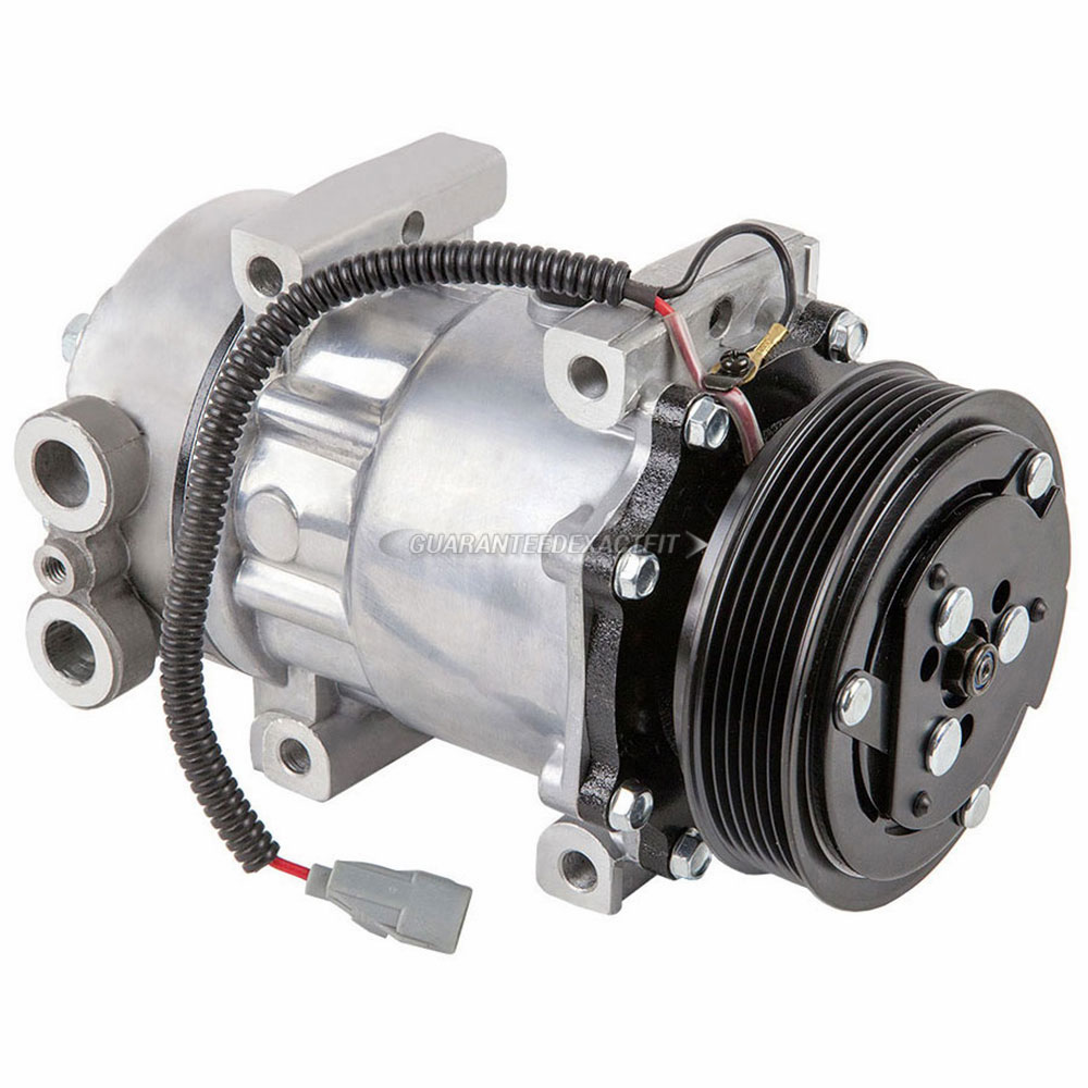 Jeep Wrangler New xSTOREx Compressor w Clutch
