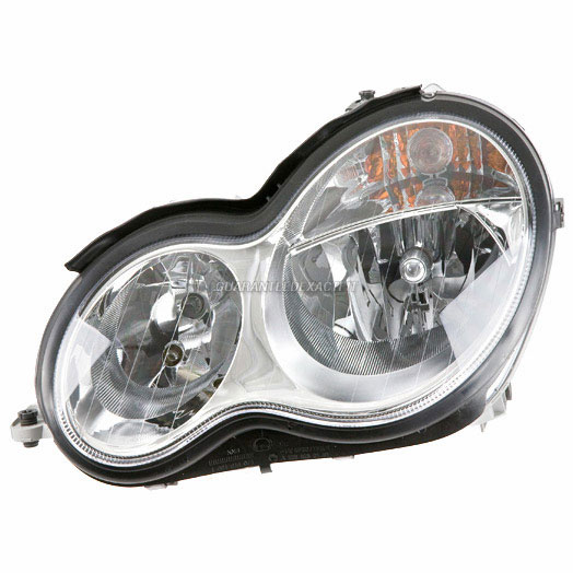Mercedes Benz C350 Headlight Assembly Pair
