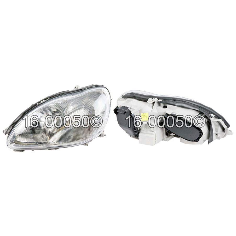 Mercedes Benz S500 Headlight Assembly
