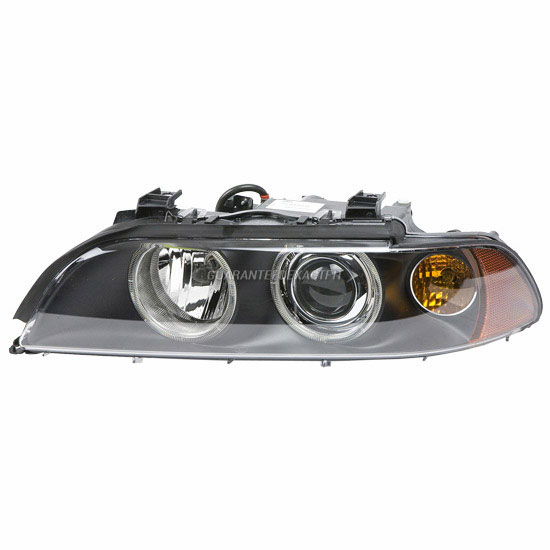 2001 BMW 525 Headlight Assembly Pair