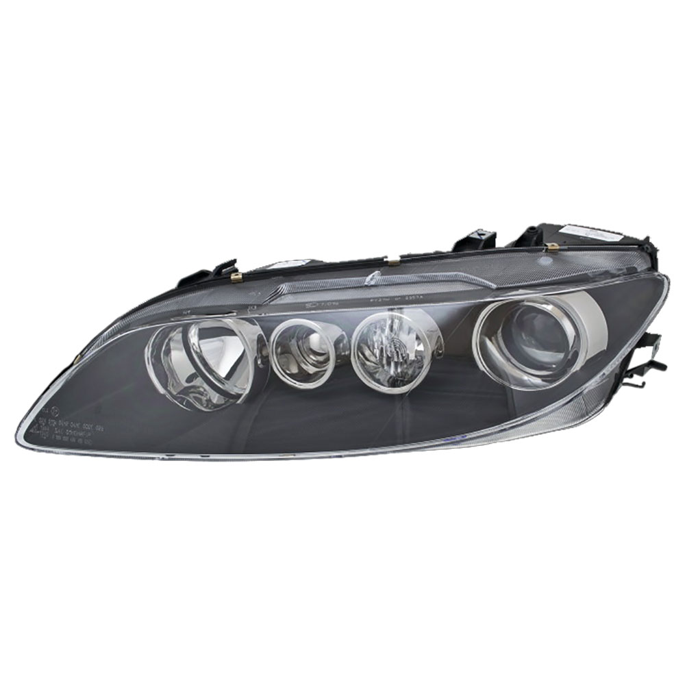 BuyAutoParts 16-80100H2 Headlight Assembly Pair