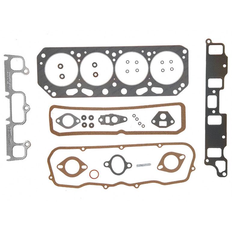 1999 Ford Econoline E150 Cargo Head Gasket: Chevrolet Astro Van Cylinder Head Gasket Sets Parts, View