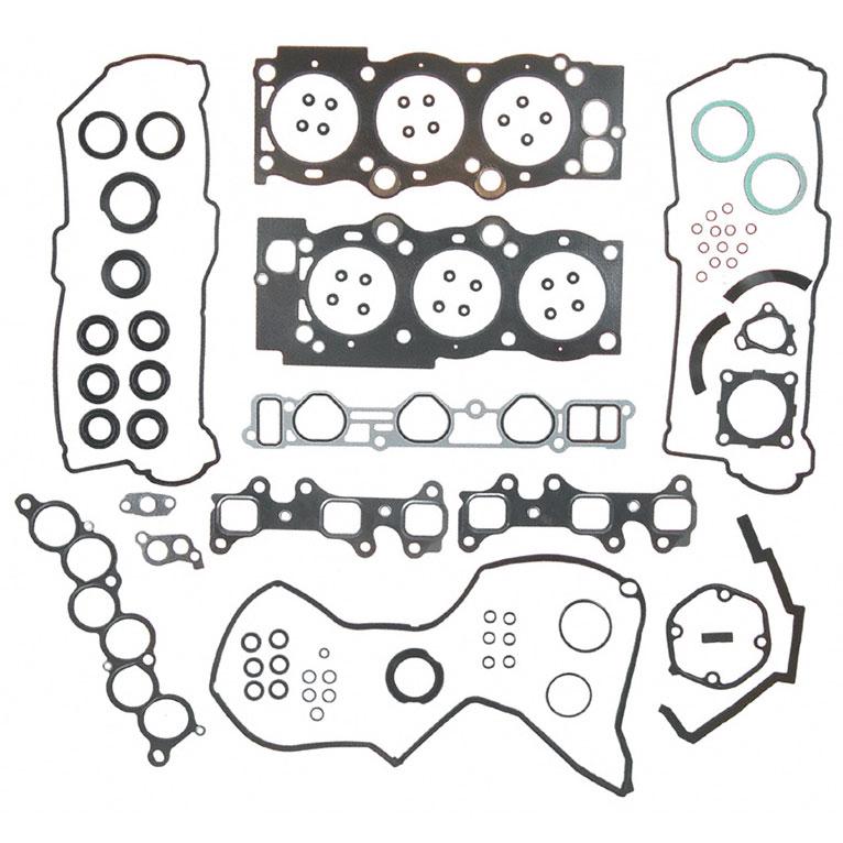 lexus es300 cylinder head gasket sets parts  view online