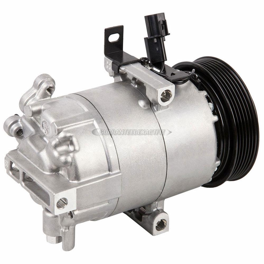 Hyundai Elantra Extended Warranty: 2011 Hyundai Elantra A/C Compressor 1.8L Engine